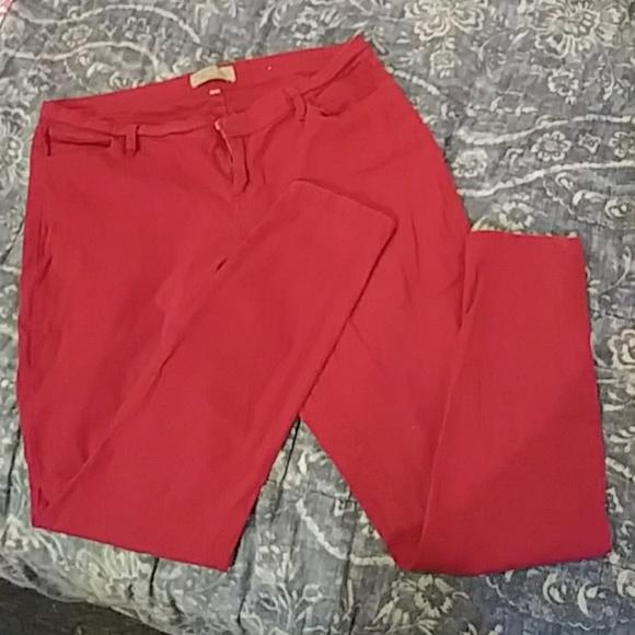 Rue21 Denim - Red womens jeans